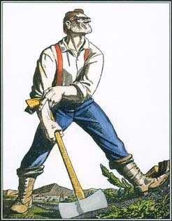 A folk hero of the lumber industry, Paul Bunyan possessed many of the qualities that loggers admired. He was strong, clever, and independent. However, as his legend developed, stories focused more on his size than on his skill as a lumberjack.
