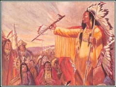 Hiawatha helped Dekanawida unite the people of the five Iroquois nations—the Mohawk, the Oneida, the Onondaga, the Cayuga, and the Seneca.