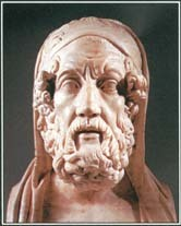Homer is considered to be the author of the Iliad and the Odyssey, two epics of ancient Greek literature.
