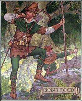 the life and death of the legendary english outlaw robin hood The robin hood legend as an outlaw robin took to the greenwood of  the legendary robin hood,  but a simple yeoman driven to a life of crime by the.