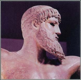 The leader of the Greek deities, Zeus was the god of law and social order. He also oversaw all earthly and divine events.